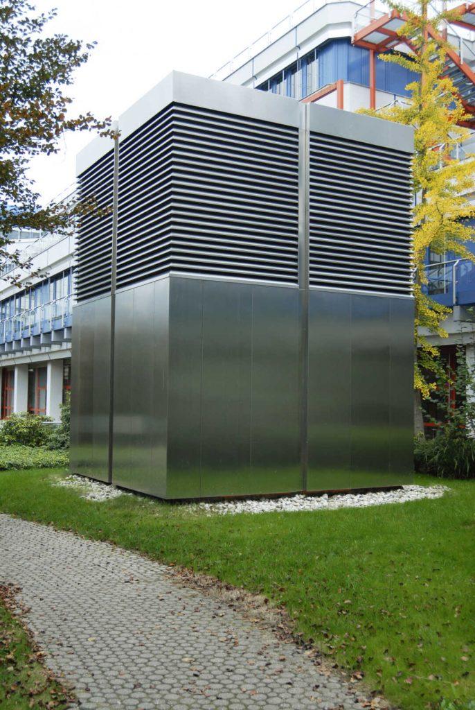 Lüftungstürme Uni Trier | BLH Lüftungstechnik