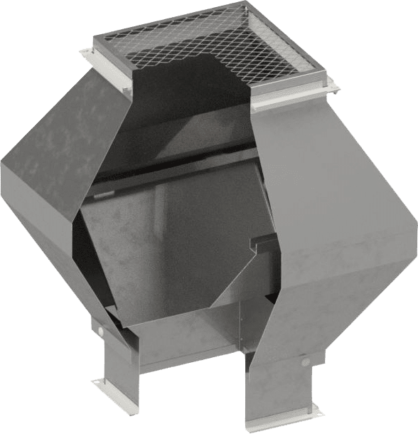 Deflektorhaube eckig | BLH Lüftungstechnik