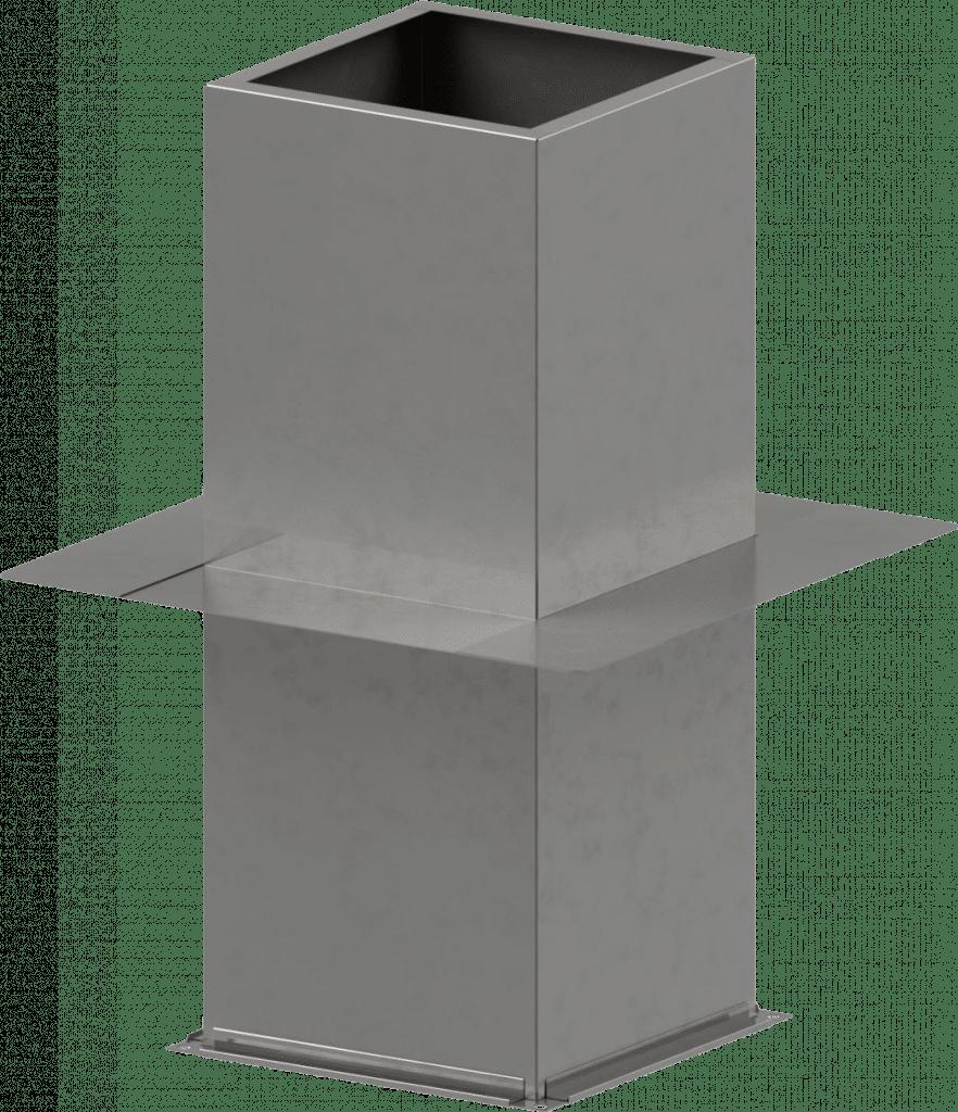 Dachsockel - Dachdurchführung | BLH Lüftungstechnik