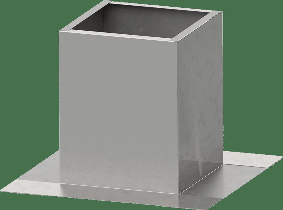 Dachsockel - Isolierung innen oder doppelwandig | BLH Lüftungstechnik