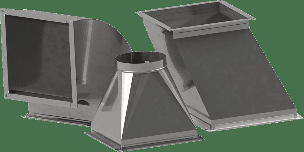 Formteile | BLH Lüftungstechnik