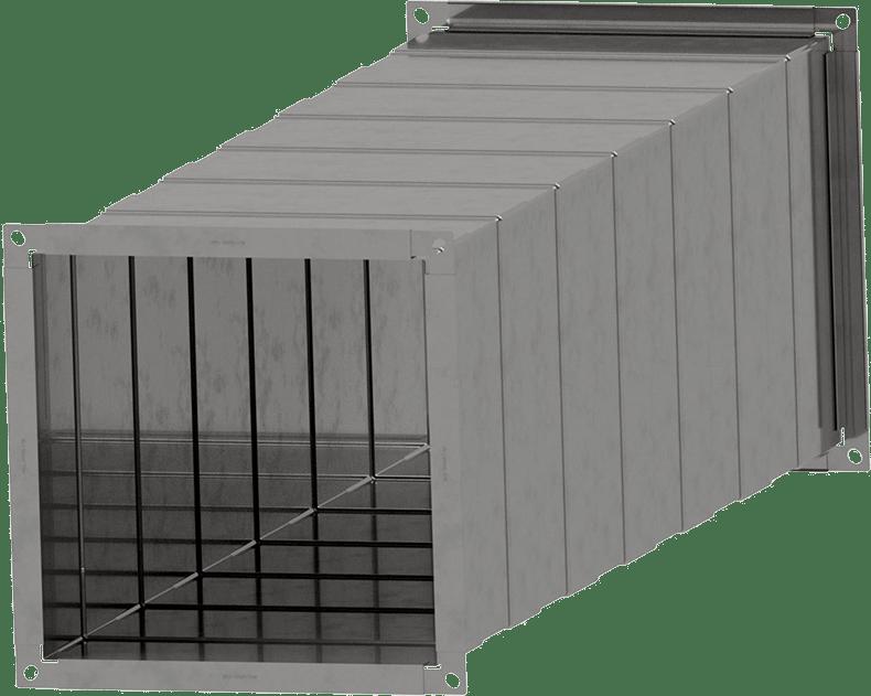 Kanalbauteile gefalzt | BLH Lüftungstechnik