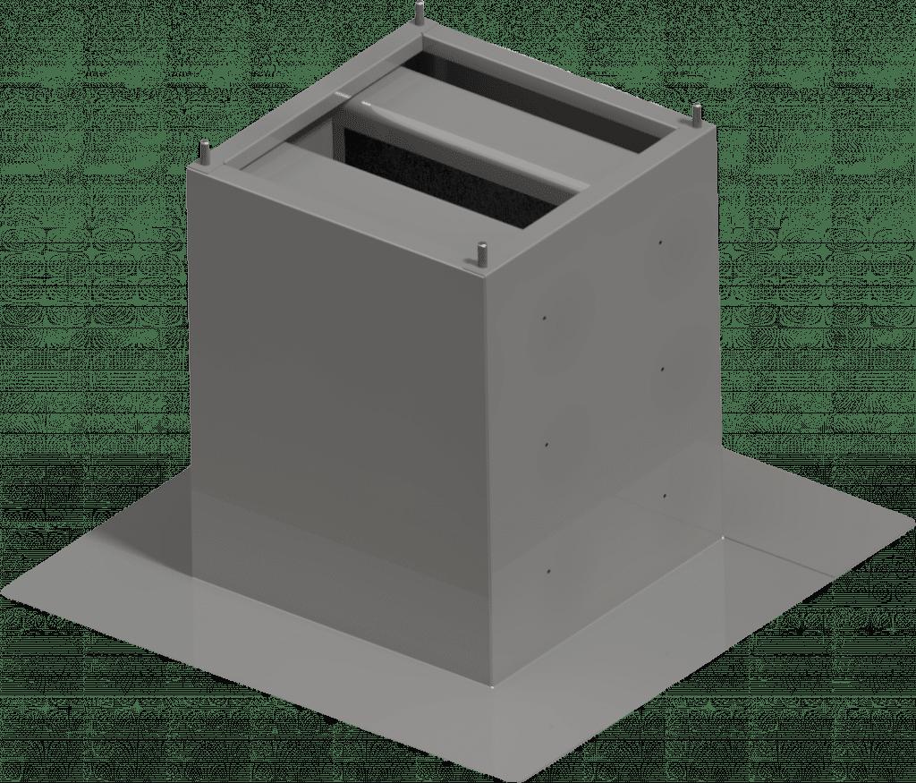 Sockelschalldaempfer-Standard | BLH Lüftungstechnik hennen